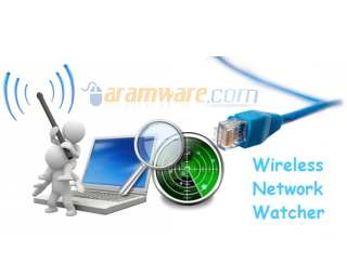Wireless Network Watcher 1.71 الوايرلس Wireless-Network-Wat